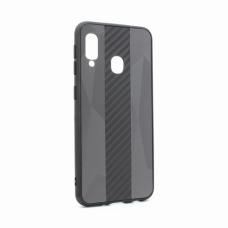 Futrola Carbon Line za Samsung A202F Galaxy A20e crna