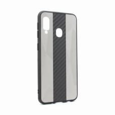 Futrola Carbon Line za Samsung A202F Galaxy A20e siva