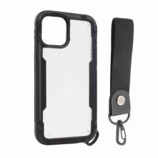 Futrola Carbon za iPhone 12/12 Pro 6.1 crna