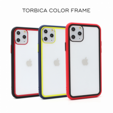 Futrola Color Frame za iPhone 11 6.1 crna
