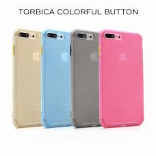 Futrola Colorful button za iPhone 6/6S crna