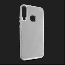 Futrola Crystal Cut za Huawei P40 Lite E srebrna