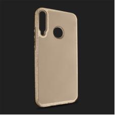 Futrola Crystal Cut za Huawei P40 Lite E zlatna