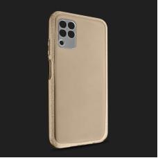 Futrola Crystal Cut za Huawei P40 Lite/Nova 6 SE zlatna