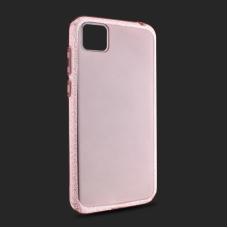 Futrola Crystal Cut za Huawei Y5p/Honor 9S roze