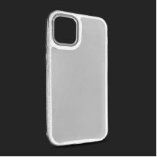 Futrola Crystal Cut za iPhone 12 Mini 5.4 srebrna