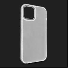 Futrola Crystal Cut za iPhone 12 Pro Max 6.7 srebrna