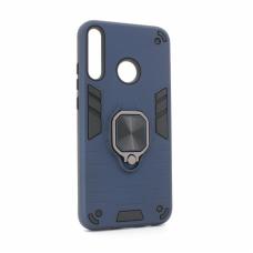 Futrola Cube Ring za Huawei P40 Lite E tamno plava