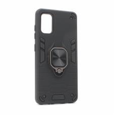 Futrola Cube Ring za Samsung A415F Galaxy A41 crna
