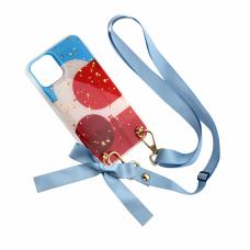 Futrola Fashion Strap Glitter za iPhone 11 Pro 5.8 plava