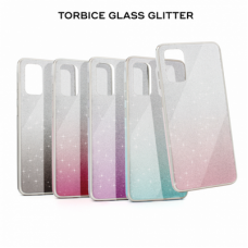 Futrola Glass Glitter za Huawei P30 Lite crna