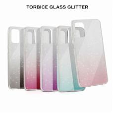 Futrola Glass Glitter za iPhone 11 6.1 roze