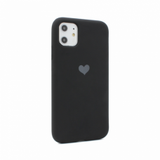 Futrola Heart za iPhone 11 6.1 crna