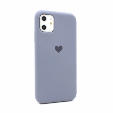 Futrola Heart za iPhone 11 6.1 ljubicasta
