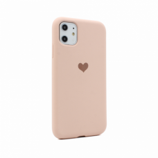 Futrola Heart za iPhone 11 6.1 pink
