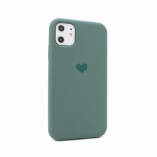 Futrola Heart za iPhone 11 6.1 tamno zelena