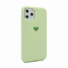 Futrola Heart za iPhone 11 Pro 5.8 svetlo zelena