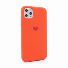 Futrola Heart za iPhone 11 Pro Max 6.5 koralna