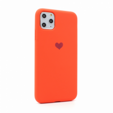 Futrola Heart za iPhone 11 Pro Max 6.5 narandzasta