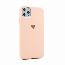 Futrola Heart za iPhone 11 Pro Max 6.5 pink