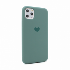 Futrola Heart za iPhone 11 Pro Max 6.5 tamno zelena