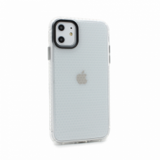 Futrola Honeycomb za iPhone 11 6.1 transparent siva
