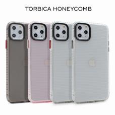 Futrola Honeycomb za iPhone 11 Pro 5.8 crna transparent crvena