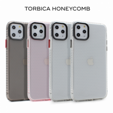 Futrola Honeycomb za iPhone 11 Pro Max 6.5 transparent siva