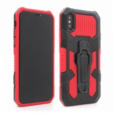 Futrola i-Crystal za iPhone X/XS crvena