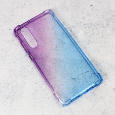 Futrola Ice Cube Color za Huawei P30 ljubicasto plava