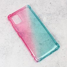 Futrola Ice Cube Color za Samsung A515F Galaxy A51 plavo roze