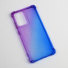 Futrola Ice Cube Color za Samsung A525F/A526B Galaxy A52 4G/5G (EU) ljubicasto plava