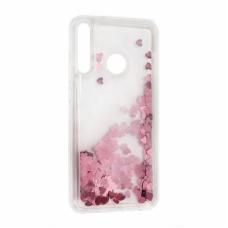 Futrola Liquid Heart za Huawei P40 Lite E roze