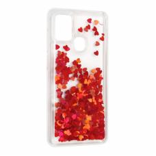 Futrola Liquid Heart za Samsung A217F Galaxy A21s crvena