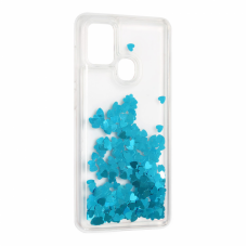 Futrola Liquid Heart za Samsung A217F Galaxy A21s plava
