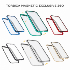 Futrola Magnetic exclusive 360 za Huawei P30 Lite srebrna