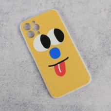 Futrola Smile face za iPhone 11 Pro 5.8 zuta