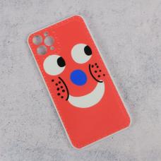 Futrola Smile face za iPhone 11 Pro Max 6.5 crvena