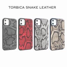 Futrola Snake leather za Huawei P30 Lite siva