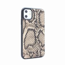 Futrola Snake leather za iPhone 11 6.1 braon