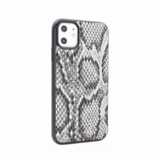 Futrola Snake leather za iPhone 11 6.1 siva
