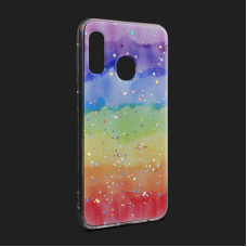 Futrola Sparkly Star za Samsung A202F Galaxy A20e type 4