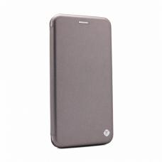 Futrola Teracell Flip Cover za Motorola Moto E7 srebrna
