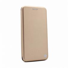 Futrola Teracell Flip Cover za Motorola Moto E7 zlatna