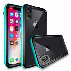 Vodootporna futrola A new za iPhone X svetlo plava