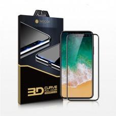 Zastitno staklo / Tempered glass Mocoll 3D HQ za iPhone X crni