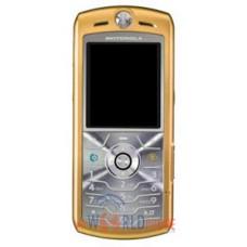 Maska AAA klase za Motorola L7 zlatna