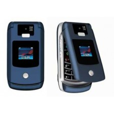Maska AAA klase za Motorola V3x plava