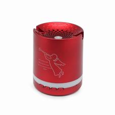 Bluetooth zvucnik BTS16/CO crveni