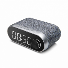 Bluetooth zvucnik Remax Alarm Clock RB-M26 srebrni